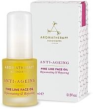 Kup Olejek przeciwzmarszczkowy - Aromatherapy Associates Anti-Ageing Fine Line Face Oil