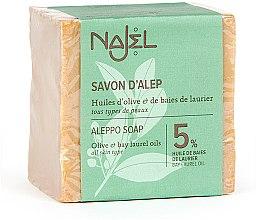 Kup Mydło Aleppo z olejem laurowym 5% - Najel Aleppo Soap 5% Bay Laurel Oil