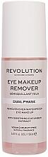 Kup Dwufazowy płyn do demakijażu oczu - Revolution Skincare Dual Phase Eye Makeup Remover