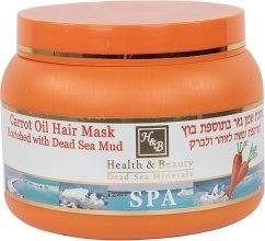 Kup Błotna maska do włosów z olejem marchewkowym - Health And Beauty Carrot Oil & Mud Hair Mask