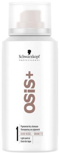 Suchy szampon do brązowych odcieni włosów - Schwarzkopf Professional OSiS+ Boho Rebel Brunette — фото N1