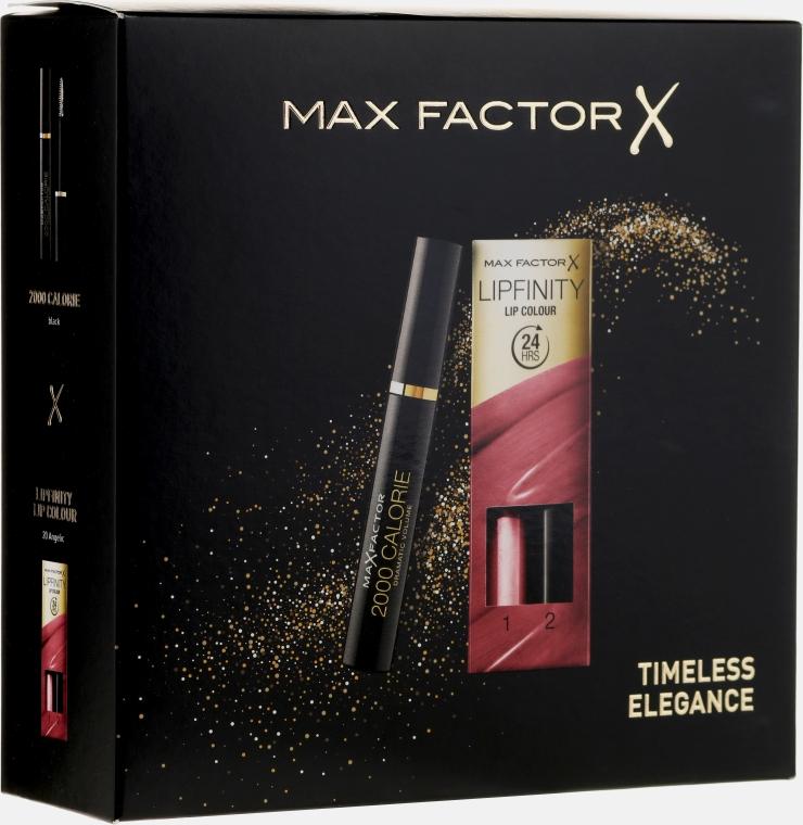 Zestaw - Max Factor (maskara/9ml+lipstick/4.2g)