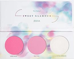 Kup Paleta różów do policzków - Zoeva Sweet Glamour Blush Palette