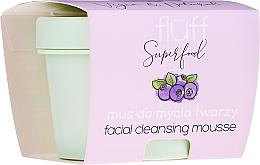 Kup Mus do mycia twarzy Borówka - Fluff Facial Cleansing Mousse Wild Blueberry