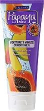 Kup Nawilżająca odżywka do włosów normalnych lub suchych - Freeman Papaya and Mango Moisture 3 Minute Conditioner