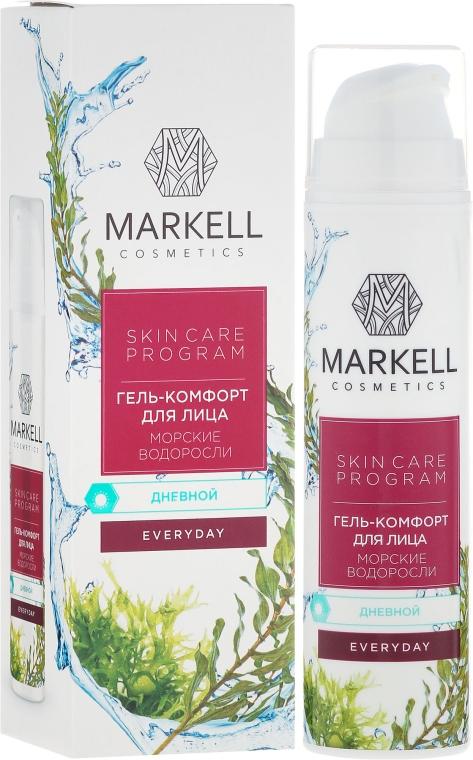 Żel-komfort do twarzy na dzień Algi morskie - Markell Cosmetics Everyday Cream Gel — фото N1