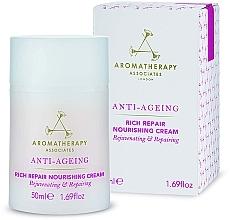 Kup Odżywczy krem przeciwmarszczkowy do twarzy - Aromatherapy Associates Anti-Ageing Rich Repair Nourishing Cream