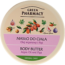 Kup Masło do ciała Olej arganowy i figi - Green Pharmacy