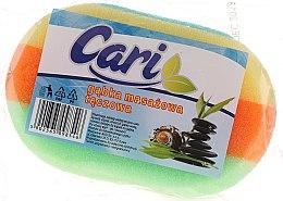 Kup Gąbka masażowa do kąpieli Tęcza 8 - Cari