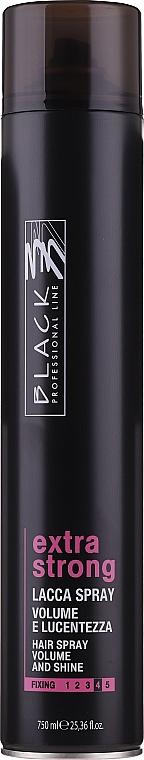 Ekstramocny lakier do włosów - Black Professional Line Extra Strong Hair Spray