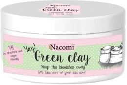 Kup Maska oczyszczająca do twarzy - Nacomi Zielona glinka