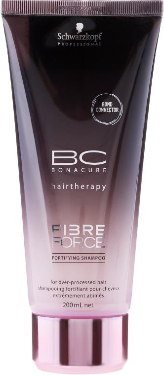 Wzmacniający szampon do włosów zniszczonych - Schwarzkopf Professional BC Bonacure Fibre Force Fortifying Shampoo