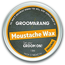Kup Wosk do wąsów i brody - Groomarang Moustache & Beard Wax