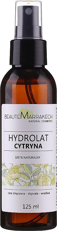 Naturalna woda cytrynowa do twarzy - Beauté Marrakech Citron Water — фото N1