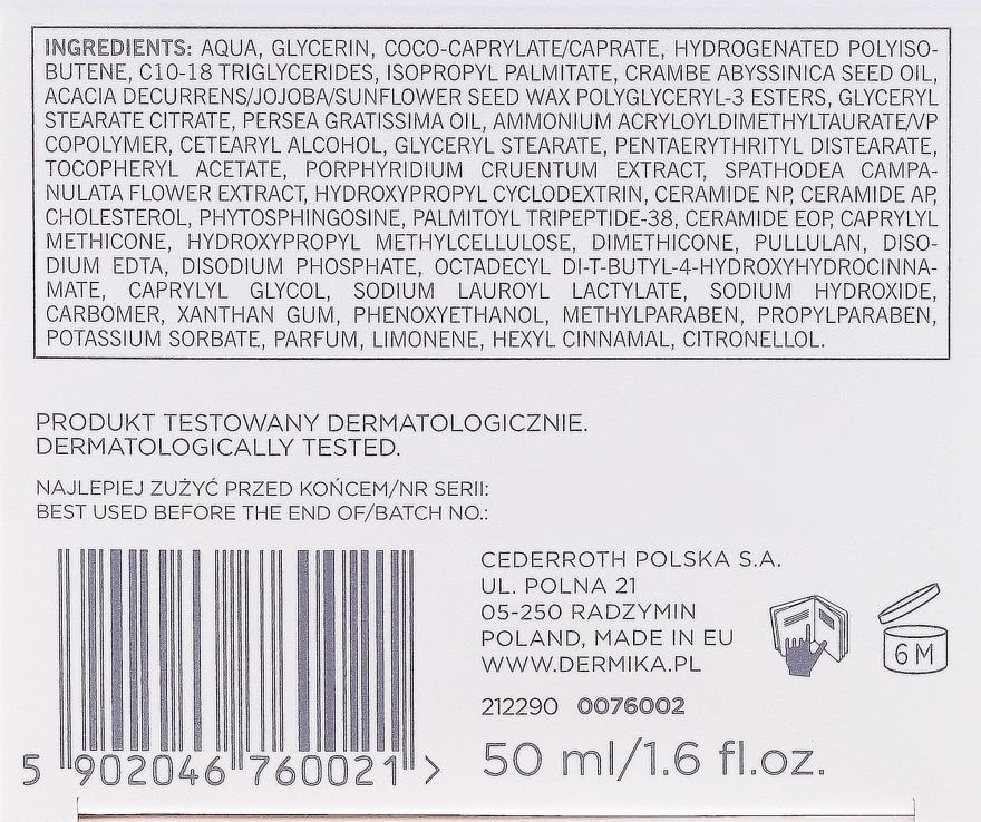 Liftingujący krem regenerujący do twarzy nanoc 50+ - Dermika Liftologiq — фото N3