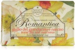 Kup Naturalne mydło w kostce Lilia i narcyz - Nesti Dante Romantica