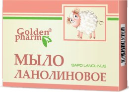 Kup Mydło kosmetyczne Lanolina - Golden Pharm