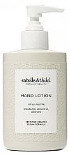 Kup Żelowe mydło do mycia rąk - Estelle & Thild Citrus Menthe Hand Lotion
