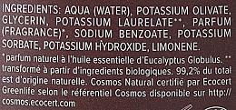 PRZECENA! Czarne peelingujące mydło aleppo z eukaliptusem - Najel Black Savon Noir Aleppo Soap Eucalyptus Body Peeling * — фото N6