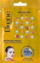 Kup Napinająca maska peel-off z 24-karatowym złotem i perłą Ekspresowy lifting - Lirene