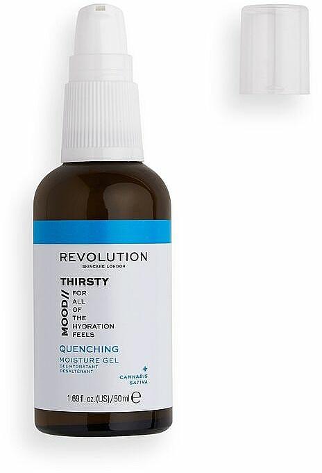 Nawilżający żel do twarzy - Revolution Skincare Mood Thirsty Quenching Moisture Gel — фото N1