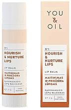 Kup Balsam do ust Odżywienie i pielęgnacja - You & Oil Nourish & Nurture Lip Balm