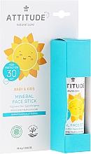 Kup Sztyft do opalania twarzy - Attitude Mineral Face Stick SPF 30