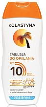 Kup Wodoodporna emulsja do opalania SPF 10 - Kolastyna
