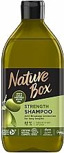 Kup Szampon z oliwą z oliwek do długich włosów - Nature Box Shampoo Olive Oil