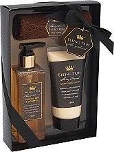 Kup Zestaw luksusowych kosmetyków - Beeing True (sh/gel 250 ml + b/balm 180 ml + towel)
