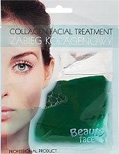 Kup Odżywczo-rozjaśniający zabieg kolagenowy z ekstraktem z ogórka i algami morskimi - Beauty Face Collagen Facial Treatment
