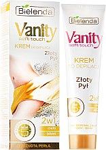 Kup Krem do depilacji 2 w 1 Złoty pył - Bielenda Vanity Soft Touch Depilatory Cream