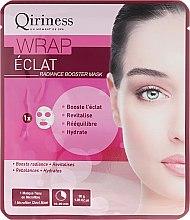 Kup Rozświetlająca maska na tkaninie do twarzy - Qiriness Wrap Éclat Radiance Booster Mask