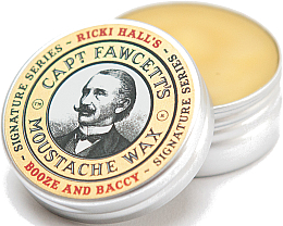 Kup Wosk do wąsów - Captain Fawcett Ricki Hall Booze & Baccy Moustache Wax