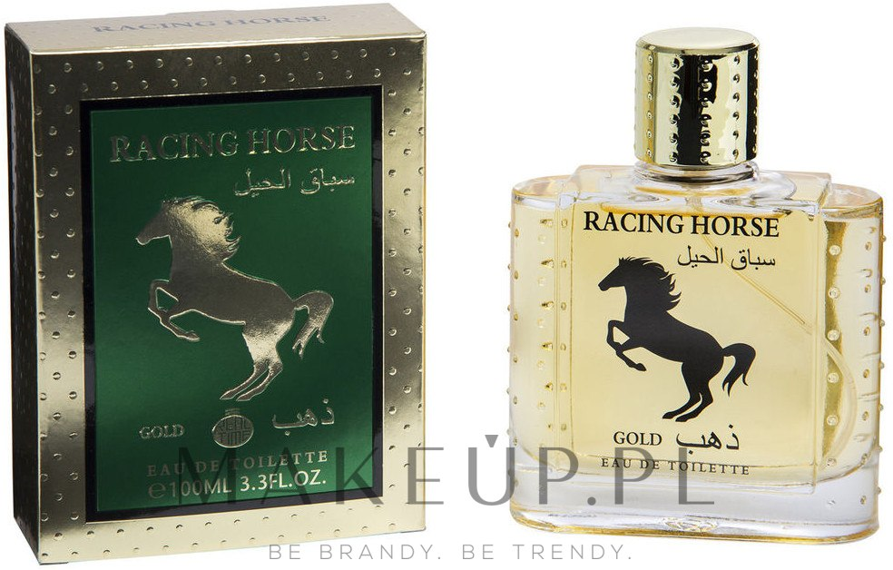 real time racing horse gold