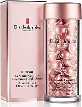 Kup Przeciwzmarszczkowe serum do twarzy na noc - Elizabeth Arden Retinol Ceramide Capsules Line Erasing Night Serum
