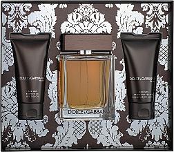 Kup Dolce & Gabbana The One For Men - Zestaw (edt 100 ml + ash/balm 50 ml + sh/gel 50 ml)