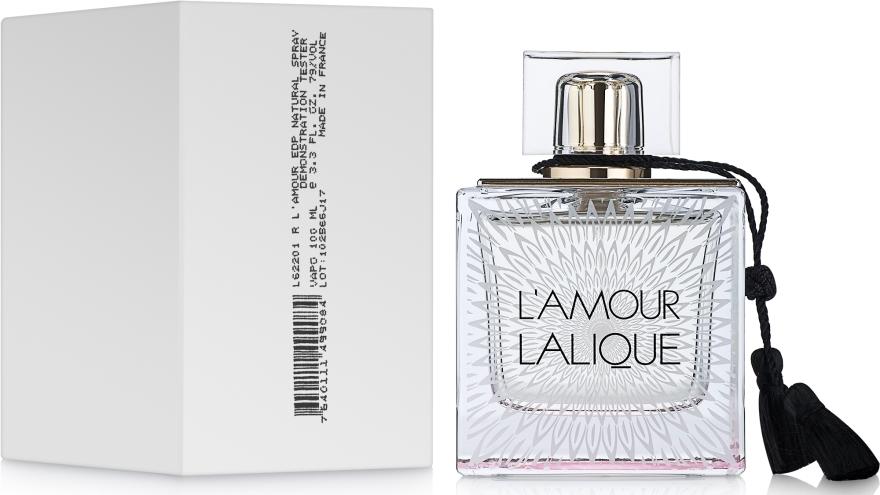 Lalique L'Amour - Woda perfumowana (tester bez nakrętki) — фото N2