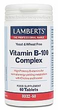 Kup Suplement diety Witaminy z grupy B - Lamberts Vitamin B-100 Complex
