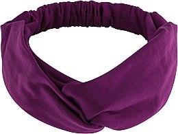 Kup Fioletowa opaska na głowę Knit Twist - Makeup