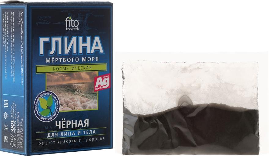Kosmetyczna glinka czarna z Morza Martwego do twarzy i ciała - FitoKosmetik