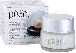 Kup Nawilżający krem przeciwstarzeniowy na dzień do twarzy SPF 15 - Diet Esthetic Micro Pearl Day Face Cream