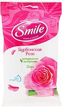 Kup Chusteczki nawilżane, Róża, 15szt - Smile Ukraine