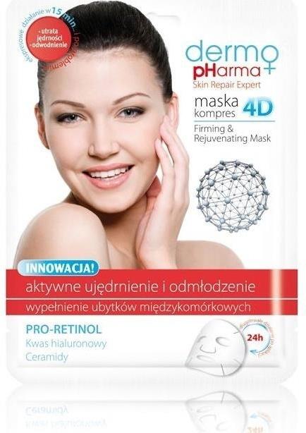Maska kompres 4D Ujędrnienie i odmłodzenie - Dermo Pharma