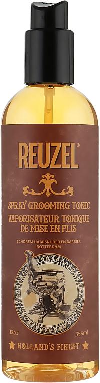 Utrwalający tonik w sprayu do układania włosów dla mężczyzn - Reuzel Spray Grooming Tonic
