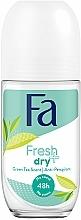 Kup Antyperspirant w kulce Zielona herbata - Fa Fresh & Dry Deodorant Roll-On