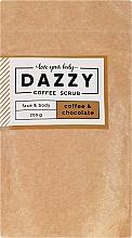Kup Peeling do twarzy i ciała Kawa i czekolada - Dazzy Coffee Face & Body Scrub Coffee & Chocolate