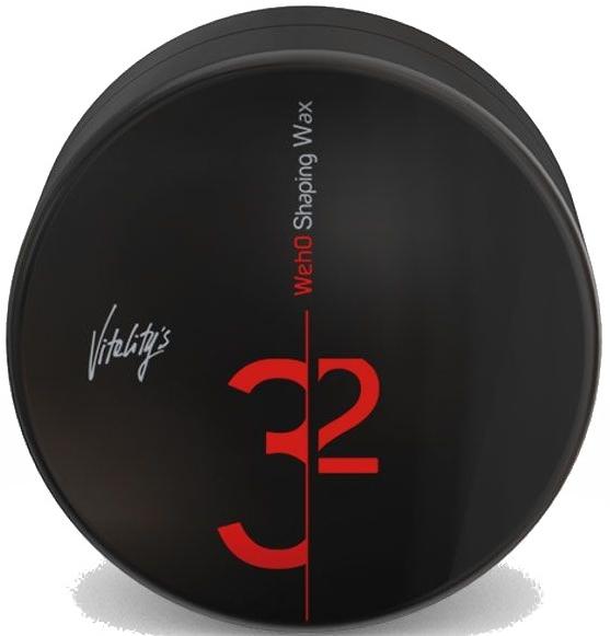 Wosk do włosów - Vitality's We-Ho Control Noir Shaping Wax — фото N1