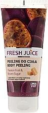 Kup Peeling do ciała Marakuja i brązowy cukier - Fresh Juice Passion Fruit & Brown Sugar