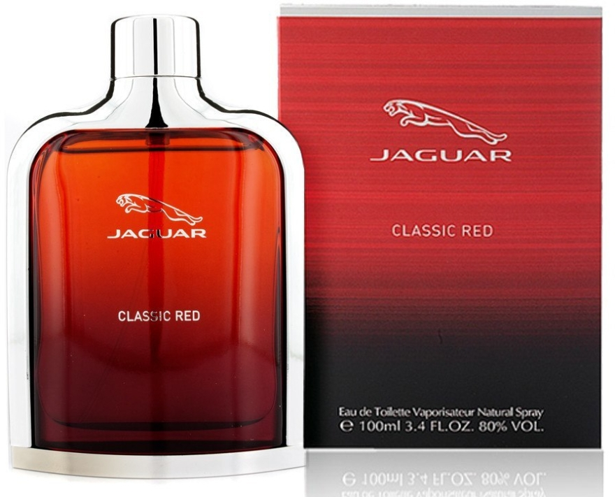 Jaguar Classic Red - Woda toaletowa